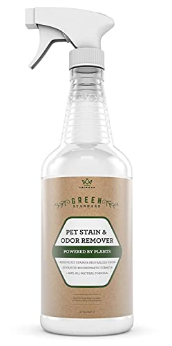 Trinova Natural Pet Stain And Odor Remover Eliminator