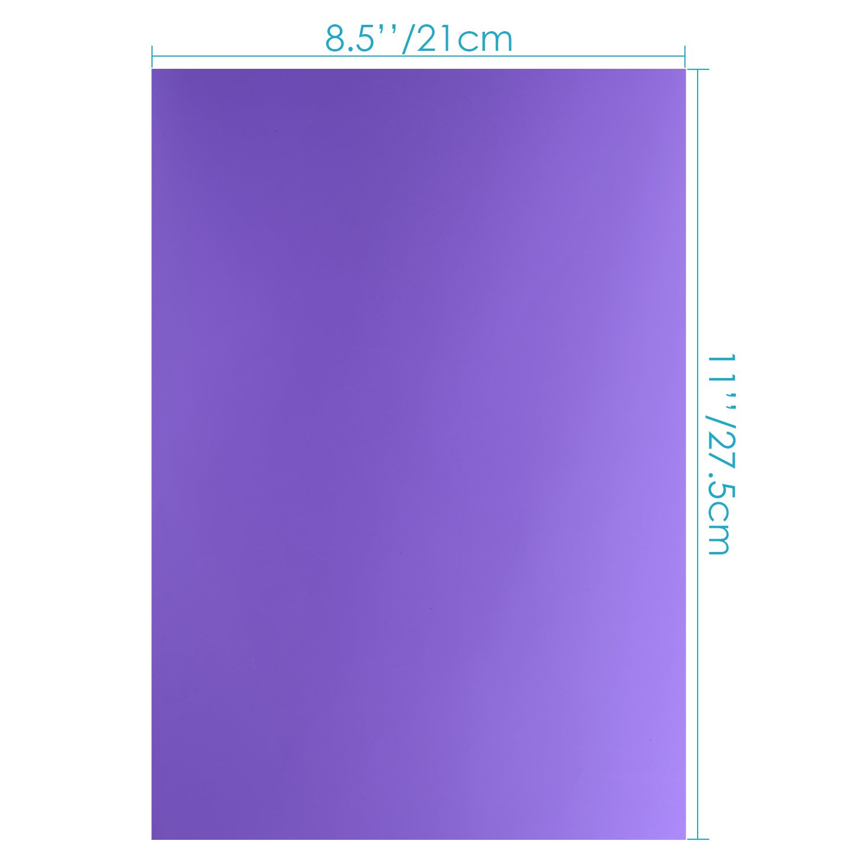 amarillo Neewer 12 Pack 8.5x11 pulgadas// 21 x 28 cm filtro de Gel transparente Color correcci/ón iluminaci/ón establecido para flash estrobosc/ópico de estudio