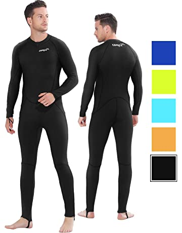 923d48b80e28 COPOZZ Diving Skin, Men Women Youth Thin Wetsuit Rash Guard- Full Body UV  Protection