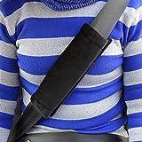 TRIXES 2X Car Seatbelt Comfort Pads Hook And Loop