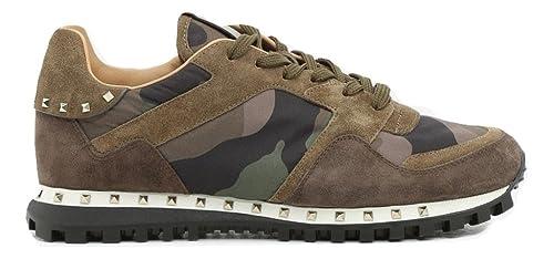 Valentino - Zapatillas para Hombre Verde Verde Verde Size: 39 EU - 5 UK: Amazon.es: Zapatos y complementos