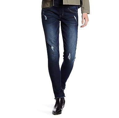 5ee701ca99c90 Amazon.com: Jolt Women's Slider Pull on Jegging Jean (1, INDIGO5): Clothing