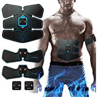 Hatsubi Abdominal Trainer Back Support Weight Loss Sweat Enhancer Belt, Slimmer Body Shaper Wrap for Men & Women,Suitable for Aanytime and Aanywhere.
