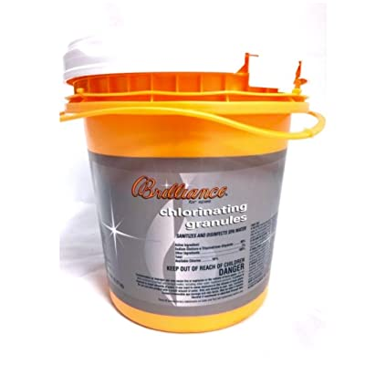 Brilliance for spas Chlorinating Granules - 5 lb : Garden & Outdoor