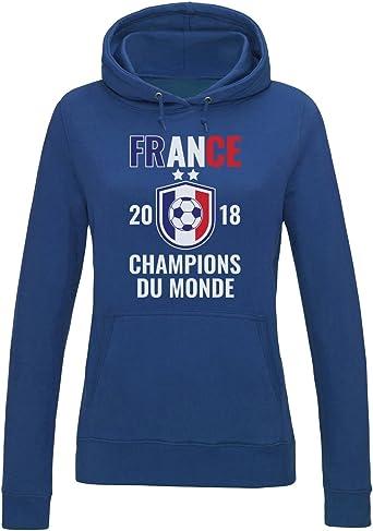 France Les Bleus Champions du Monde Football 2018 Sweatshirt