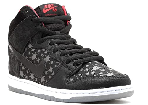 new concept 9fee3 49b0f Men s Nike Dunk High Premium SB  quot Paparazzi quot  Skateboarding Shoes - 313171  025,