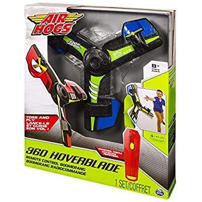 Air Hogs, 360 Hoverblade, Remote Control Boomerang, Blue: Toys & Games