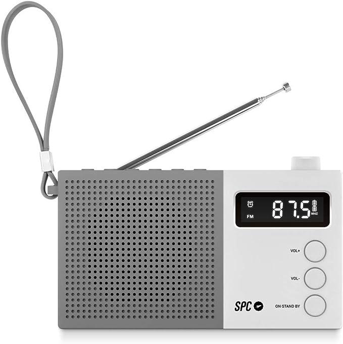 SPC Jetty MAX Radio Digital portátil FM con 50 emisoras y Pantalla ...