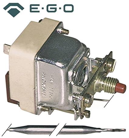 Seguridad Termostato EGO Tipo 55.10522.802, 55.10522.830, 55.19522 ...