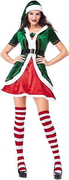 Traje de Mujer y Hombre de Halloween Disfraz de Navidad de ...