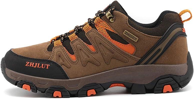 Botas de Monta/ña para Hombre Mujer de Zapatillas de Trekking y Senderismo