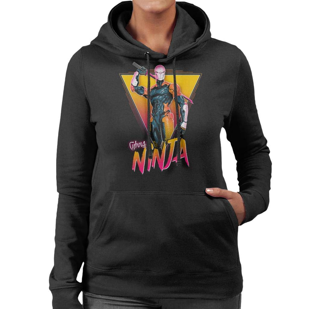 Metal Gear Solid Cyborg Ninja Womens Hooded Sweatshirt ...