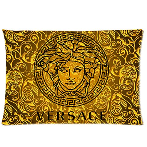 Custom Versace Pillowcases Throw Cover Size:20x30 (Two - Custom Versace