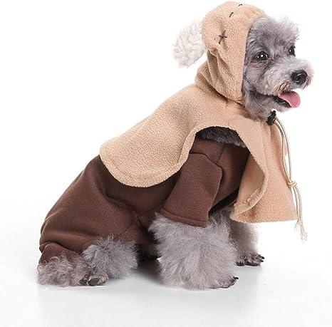 HERSITY Ewok Star Wars - Disfraz de Perro para Cachorro: Amazon.es ...