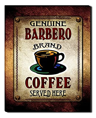 Barbero's Coffee Gallery Wrapped Canvas Print - Barbera Coffee
