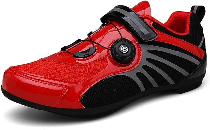 LHY RIDING Gran tamaño Zapatillas de Ciclismo MTB,zapaillas de ...