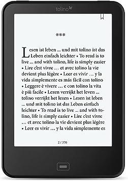 Tolino Vision 3 HD lectore de e-Book Pantalla táctil 4 GB WiFi Negro: Amazon.es: Electrónica