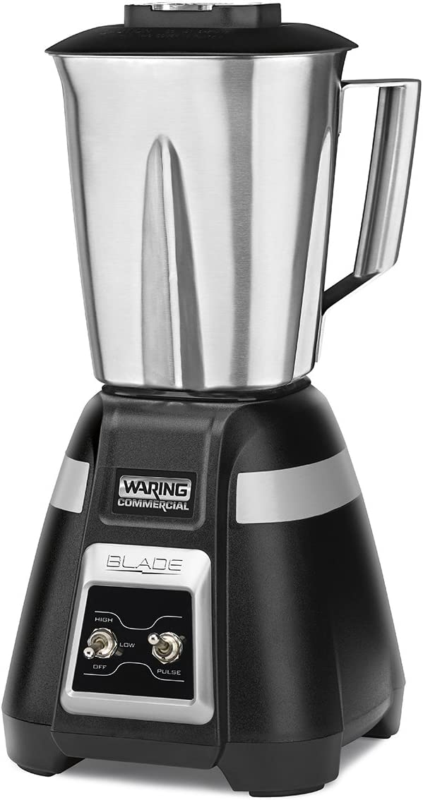 Waring Commercial BB300S 1-Hp bar Blender, Black