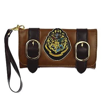 a184caaacfaa2 EisEyen Damen Kinder Retro Harry Potter Hogwarts Geldbörse Braun mit  Münzfach
