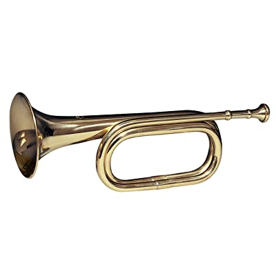 Rothco Brass Cavalry Bugle: Sports & Outdoors