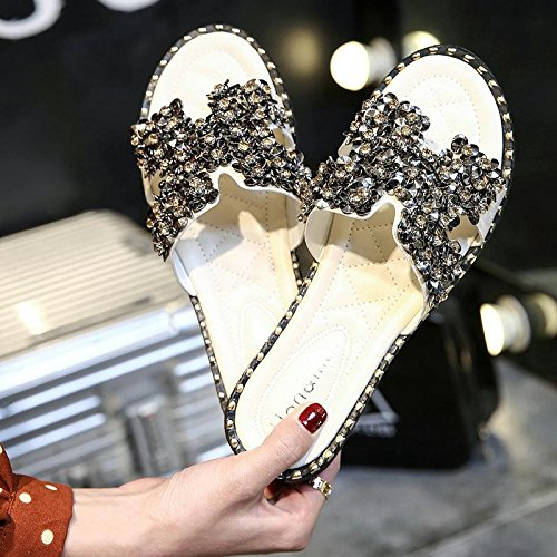 water a fankou sand light slip out 37 cold sandals anti sandals drill bottomed slip slippers President yellow flat and female non Summer qAqBwFp