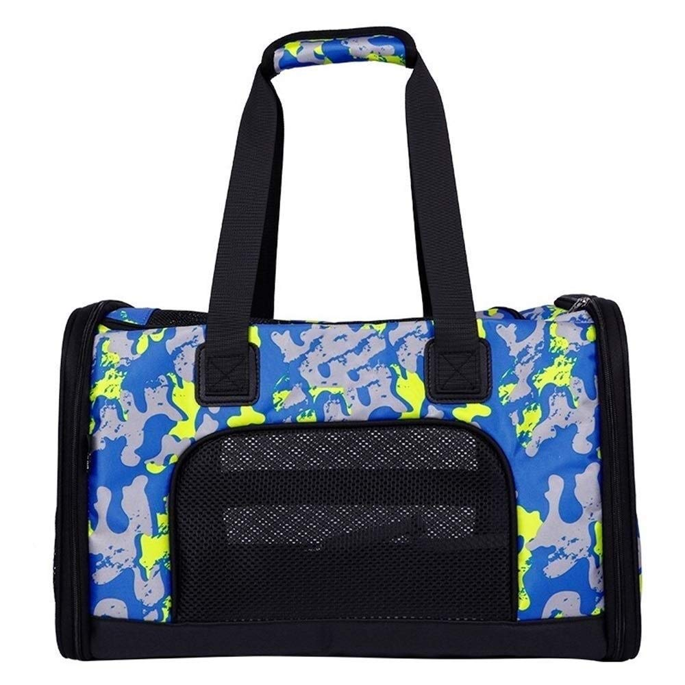 C IRVING Cat Carrier,Pet Travel Carrier for Cats,Dogs Puppy Comfort Portable Pet Bag Airline Approved (color   B)
