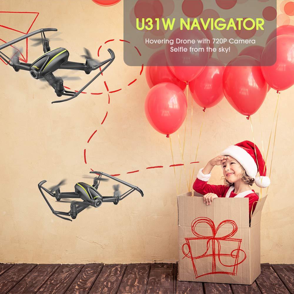 DROCON U31W Navegador FPV Drone para Principiantes con 2MP HD WI ...