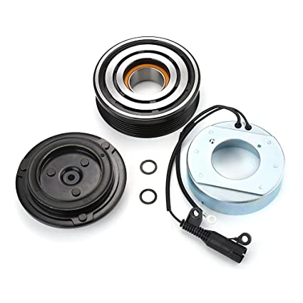 Amazon.com: AC A/C Compressor Clutch Kit Pulley Bearing Coil Plate For Mini Cooper 02-08 l4 NOT FIT TURBOCHARGED MODELS: Automotive