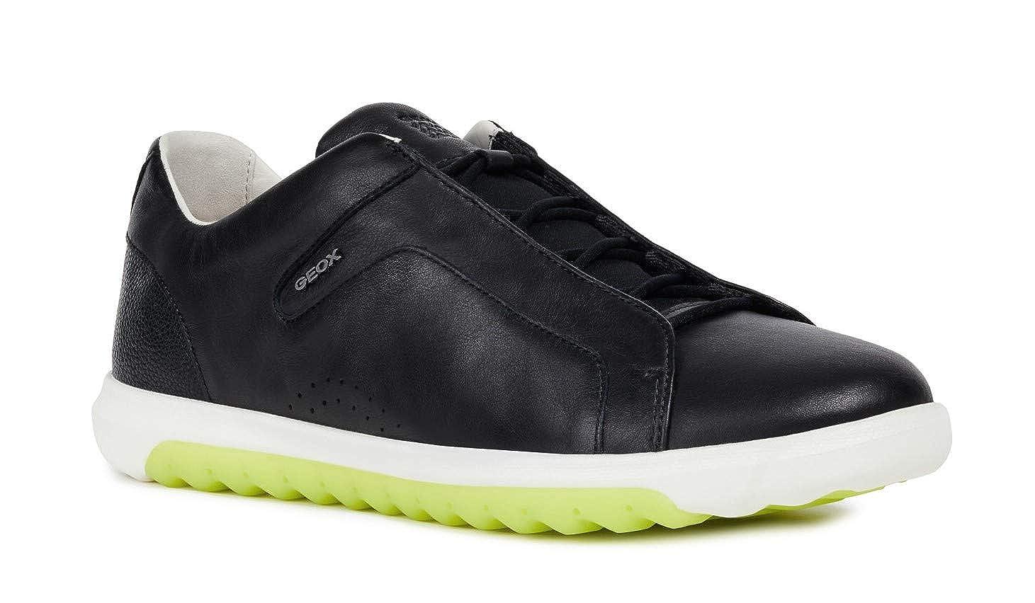 TALLA 44 EU. Geox NEXSIDE U927GA Hombre Zapatillas,mínimo,varón Zapatos Deportivos,Zapato con Cordones,Transpirable,Calzado,Zapatillas,Sneaker