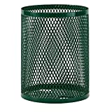 Ultra Play 32 gal. Diamond Green Commercial Park Portable Trash Receptacle