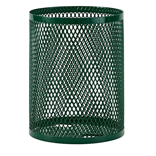 - Ultra Play 32 gal. Diamond Green Commercial Park Portable Trash Receptacle