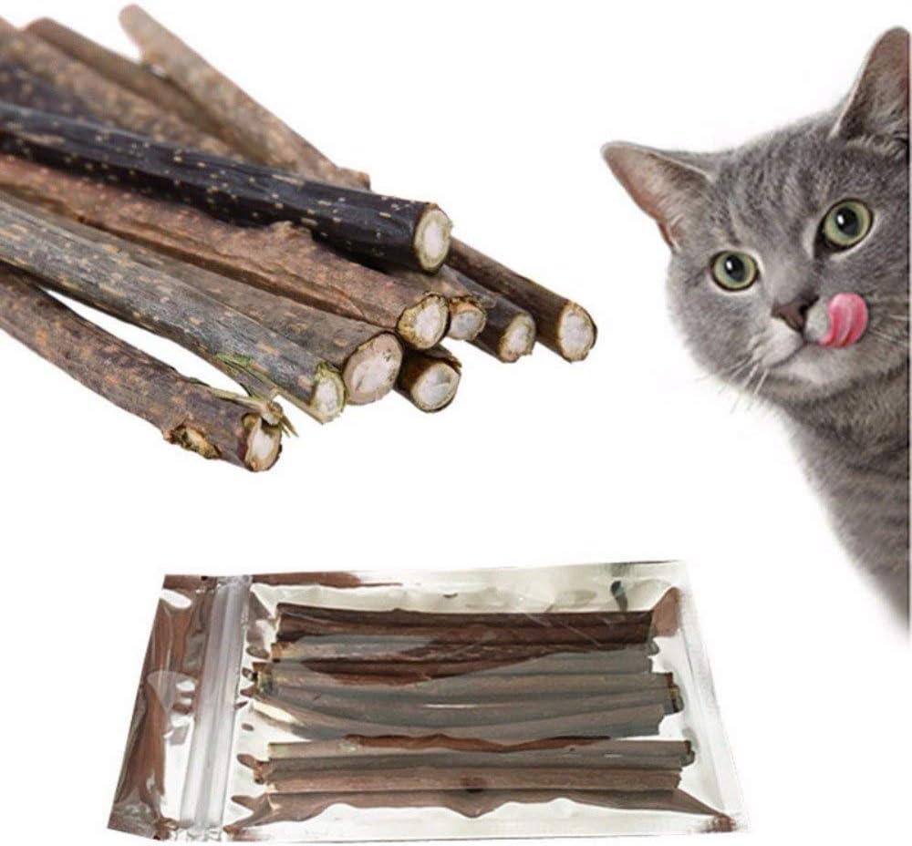 Cat Toys – Pasta de dientes para gatos y gatos, 10 unidades – Trata a los vendedores de ratones naturales de peces y ratones Yeowww hechos con dinamita para ejercitar y jugar