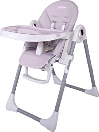 arshiner simple fold high chair for baby height