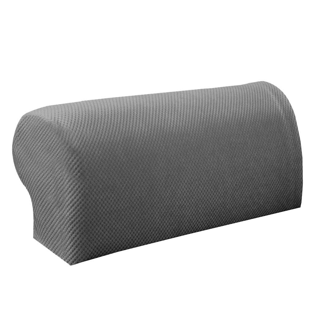 Beige 1 Par El/ástico Sof/á Apoyabrazos Cubre Sillitas Protector