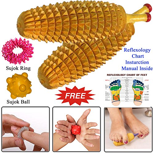 Wooden Ancient Acupressure Spiked Massager product image