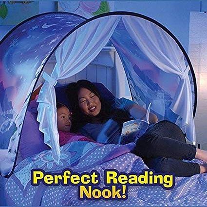 half off 70738 ceedf Amazon.com: Childs Bed Tent Kids Play Tent Playhouse Dream ...