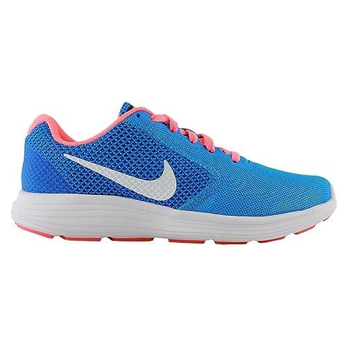 Nike 819303-402, Zapatillas de Trail Running para Mujer, Azul Glow/White