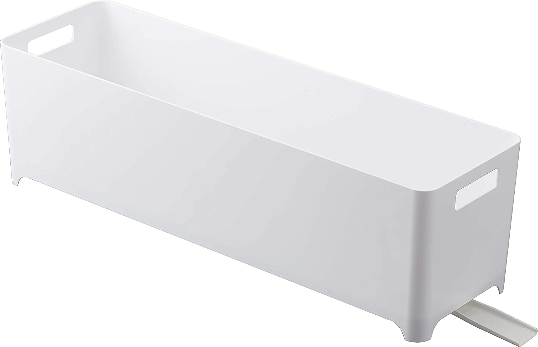 YAMAZAKI home 4314 Slim Dish Drainer Basket-Modern Kitchen Strainer Rack, One Size, White
