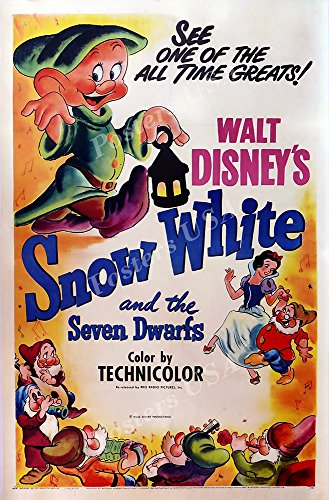 Poster USA - Disney Classics Snow White and the Seven Dwarfs Technicolor Poster GLOSSY FINISH - TECN025 (24