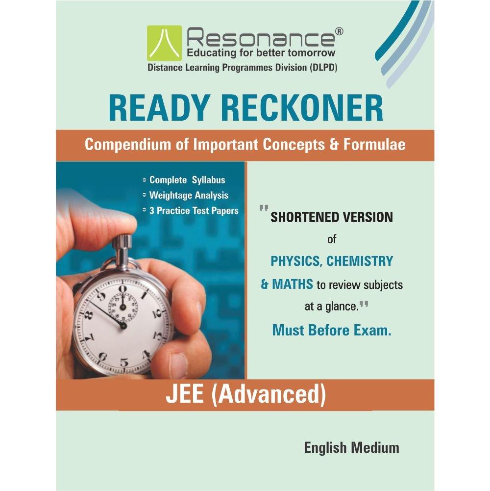 Ready Reckoner JEE Advanced Amazonin Resonance Eduventures Limited Books