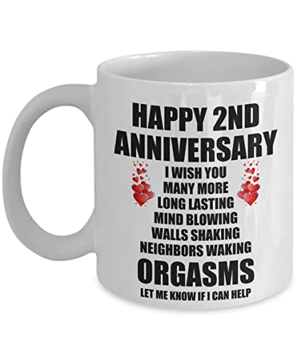 Amazoncom 2nd 2 Year Wedding Anniversary Sexy Funny Gift For