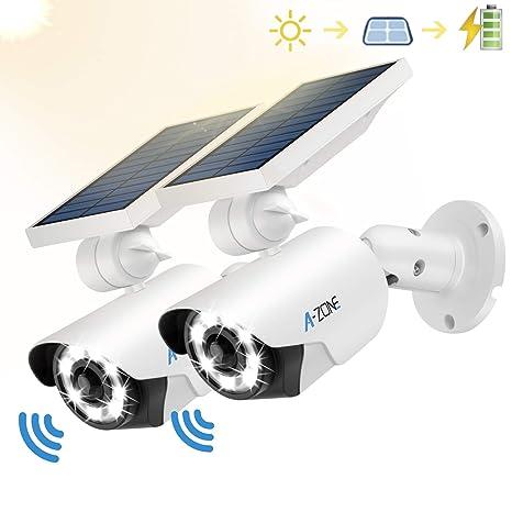Amazon.com: Luz solar con sensor de movimiento para ...