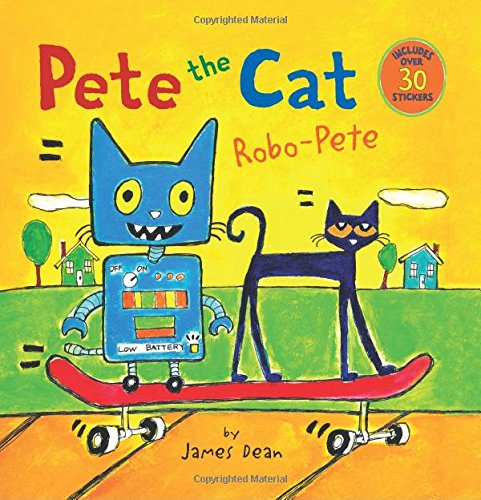 Pete Cat Robo Pete James Dean