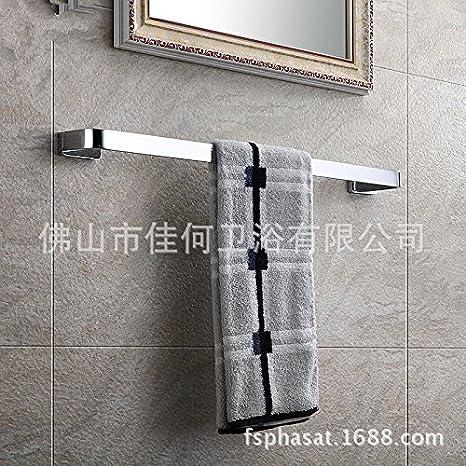Accesorios de Baño MoomQe fácilmente para montar una buena decoración efecto palanca única toalla de baño toallas QN6003A: Amazon.es: Hogar