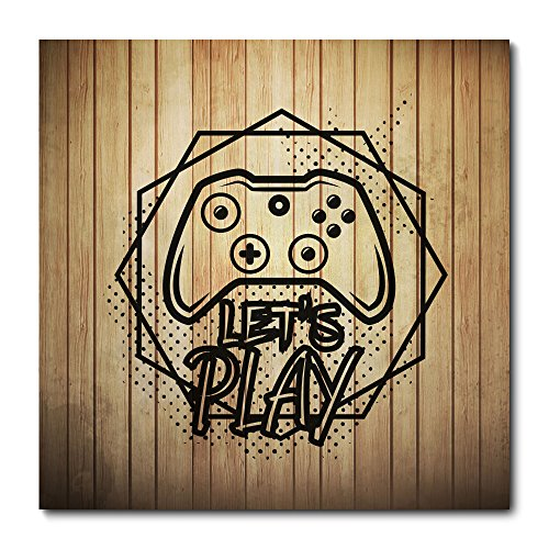 Placa Decorativa - Video Game - 1916plmk