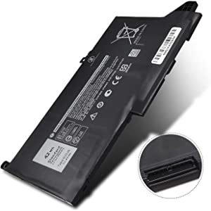 DJ1J0 New Latitude 12 7000 7280 7480 Laptop Battery Compatible with Dell 7290 7380 7390 7490 E7280 E7290 E7380 E7390 E7480 E7490 Series, PGFX4 ONFOH 451-BBZL 42Wh 11.4V