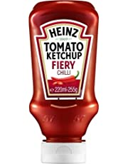 Heinz Tomato Ketchup with Fiery Chilli (255g)
