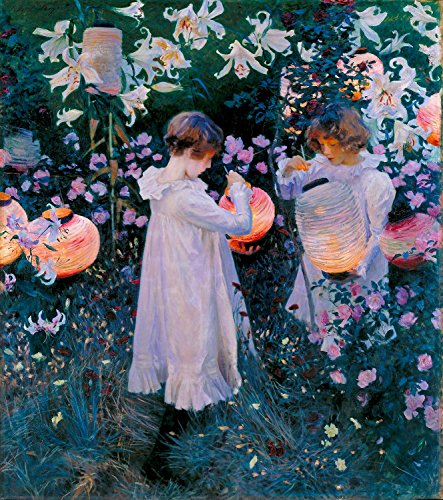 Ori Gallery - Carnation, Lily, Lily, Rose - John Singer Sargent - 12 by 13 ()