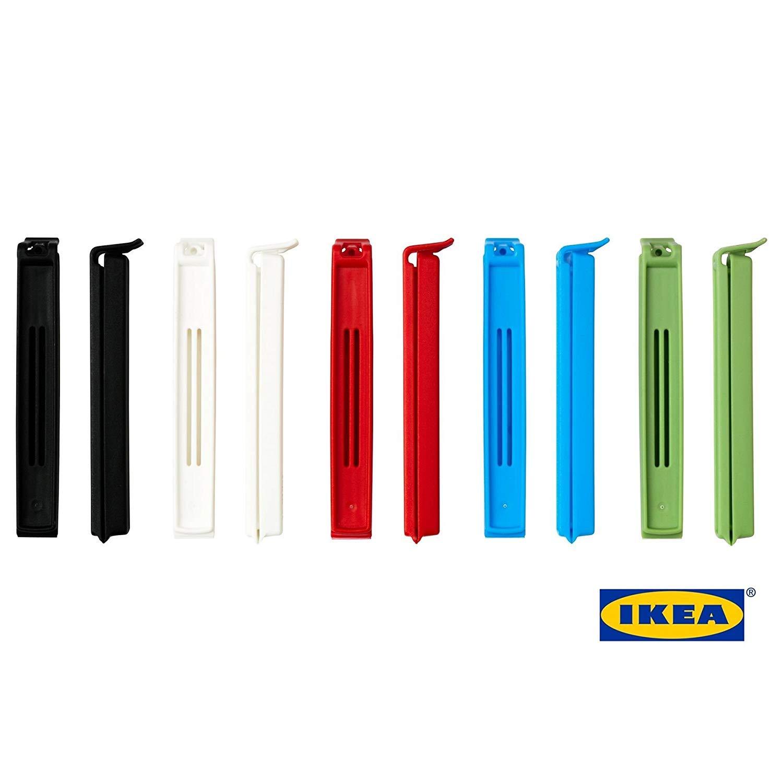 Ikea Bevara - Clips de sellado reutilizables para almacenamiento ...