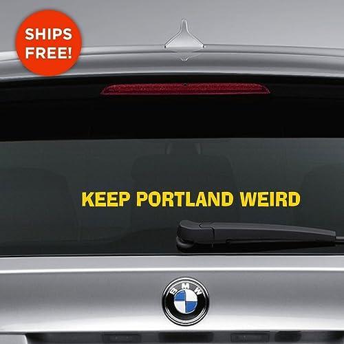 Car Decals Portland Oregon